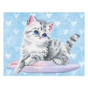 Diamond Dotz® Kitten & Hearts Craft Kit
